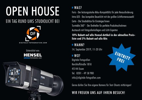 Hensel Open House