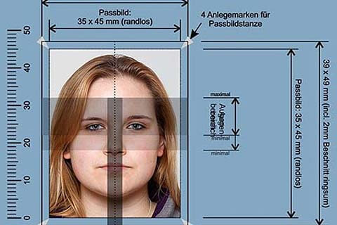 Biometrische Passfotos